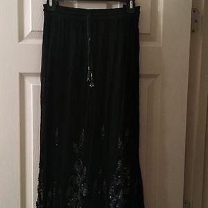 Beaded maxi skirt by Zero